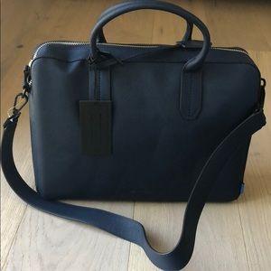 Uri Minkoff Navy Fulton briefcase 13